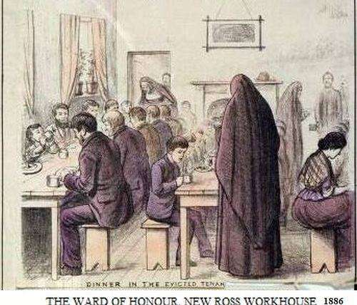 THE WARD OF HONOUR IN NEW ROSS WORKHOUSE